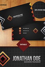 The Bebop Anime and Comic Convention PSD Template - 108