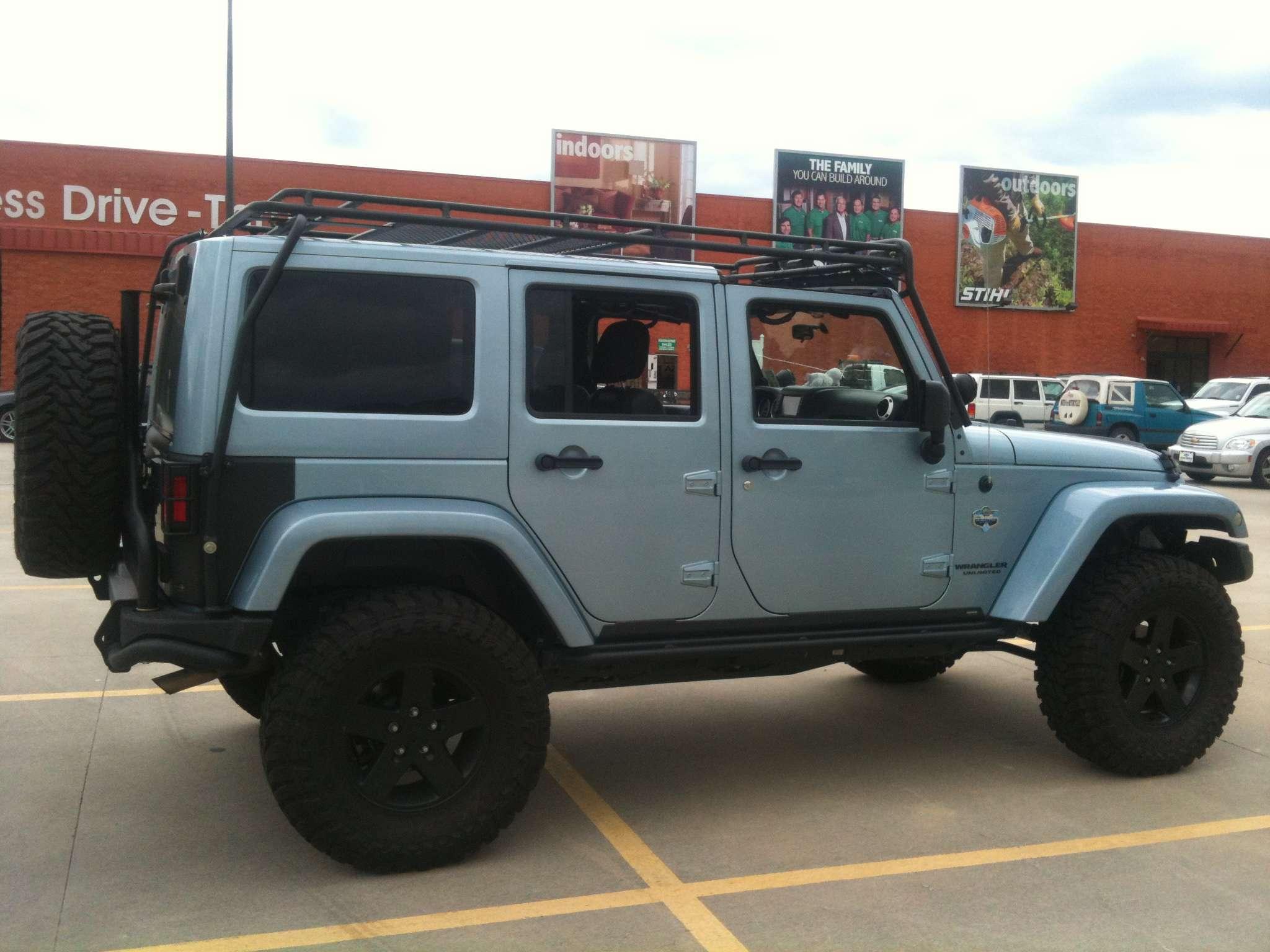 Jeep Wrangler For Sale Ct >> FS JKU Gobi Roof Rack - JKowners.com : Jeep Wrangler JK Forum