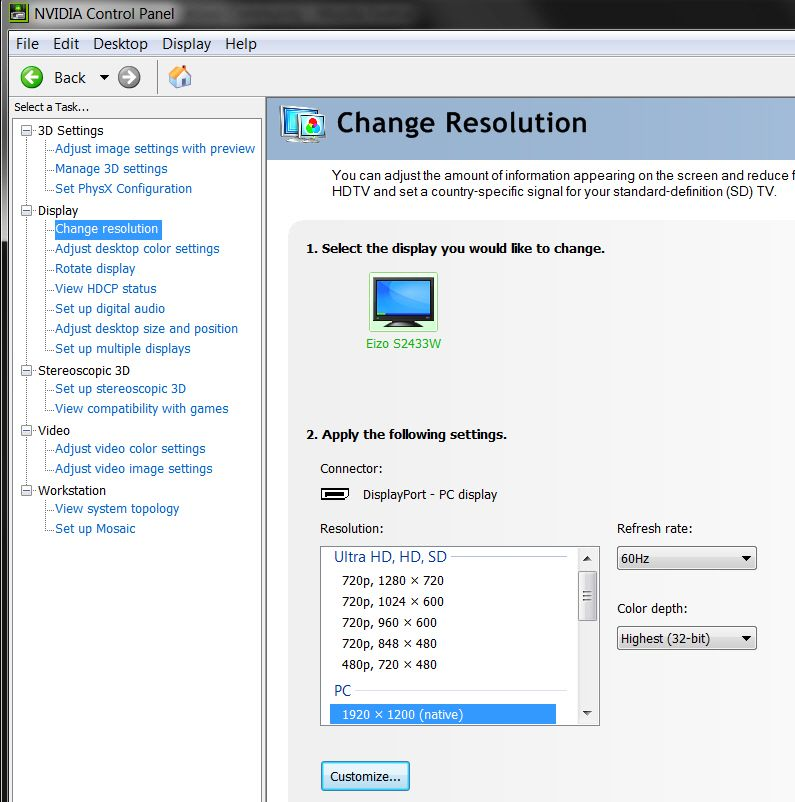 W530 mini displayport to displayport: no signal - Lenovo