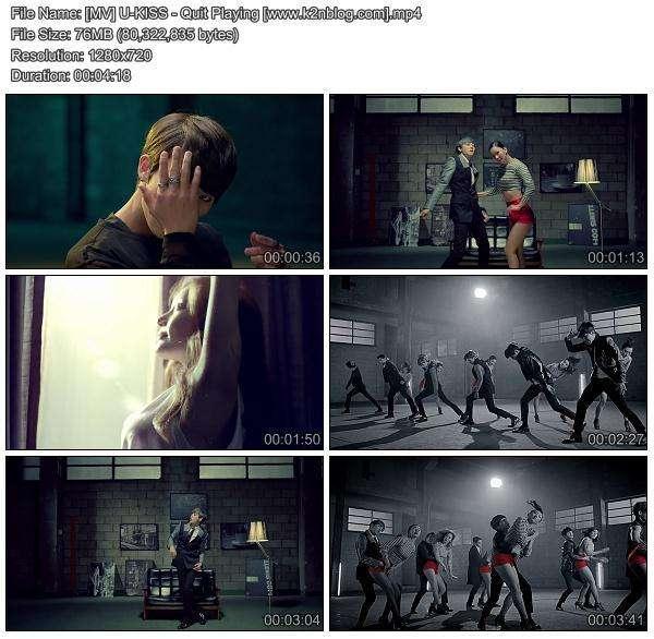 [MV] U-KISS - Quit Playing [HD 720p Youtube]