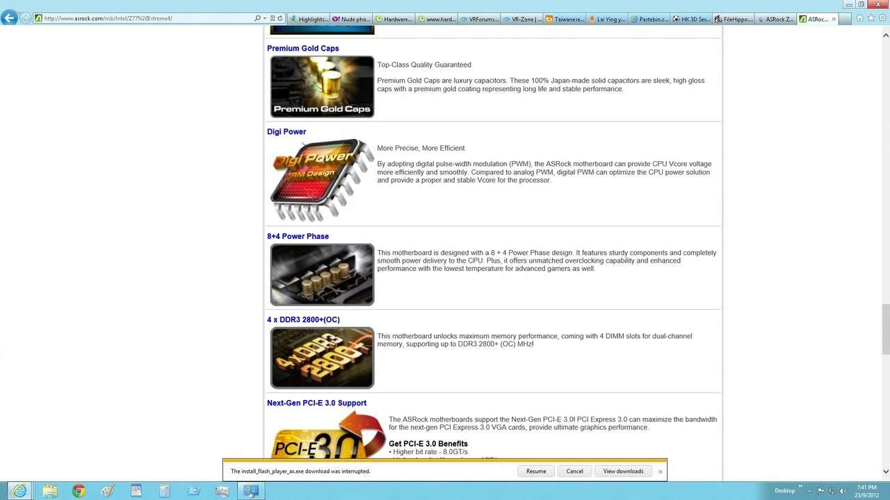 Msi Z77IA-E53 mini iTX is a Power Horse to own, 4 9Ghz!!! - www