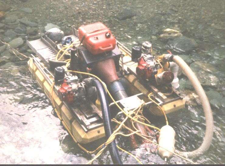 Rebuilding a Keene 5 inch triple floating dredge | Gold