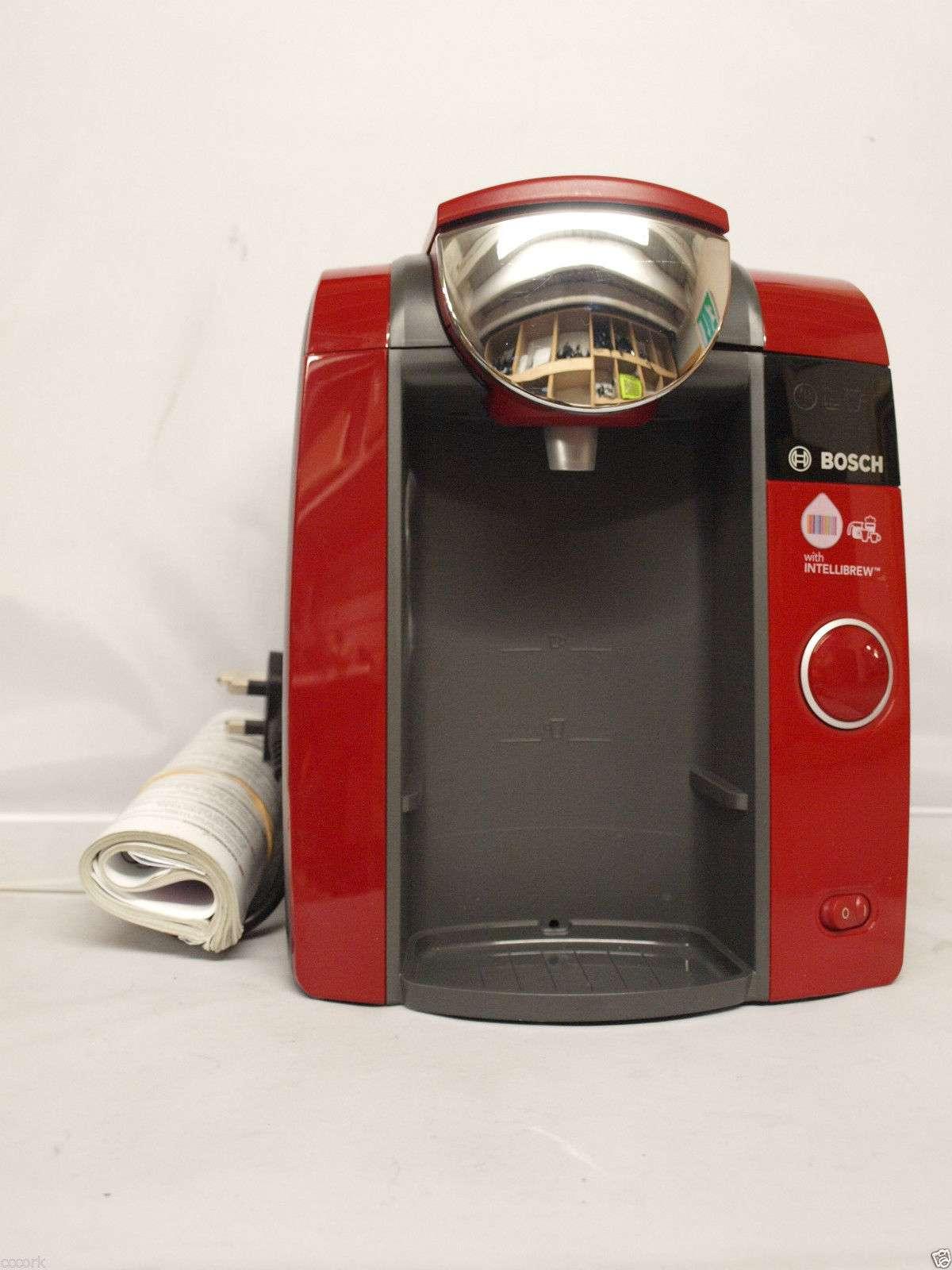 Bosch CTPM06 Tassimo Coffee Maker RED