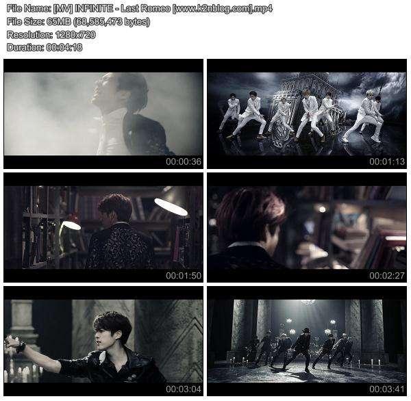 [MV] INFINITE - Last Romeo [HD 720p Youtube]