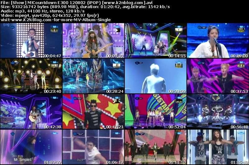 [Show] Mnet M!Countdown E300 120802