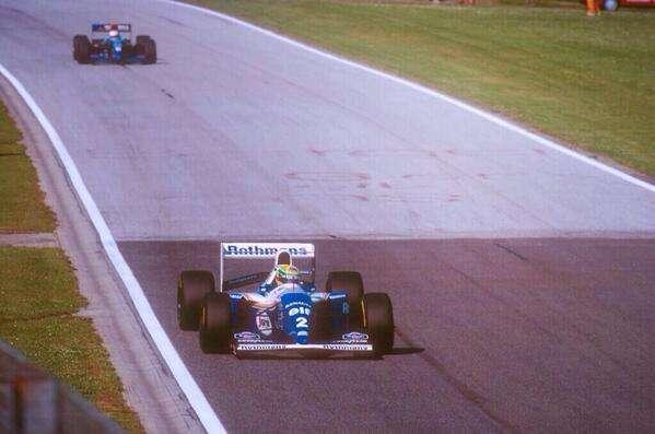 F1 1994 San Marino GP Ayrton Senna Roland Ratzenberger