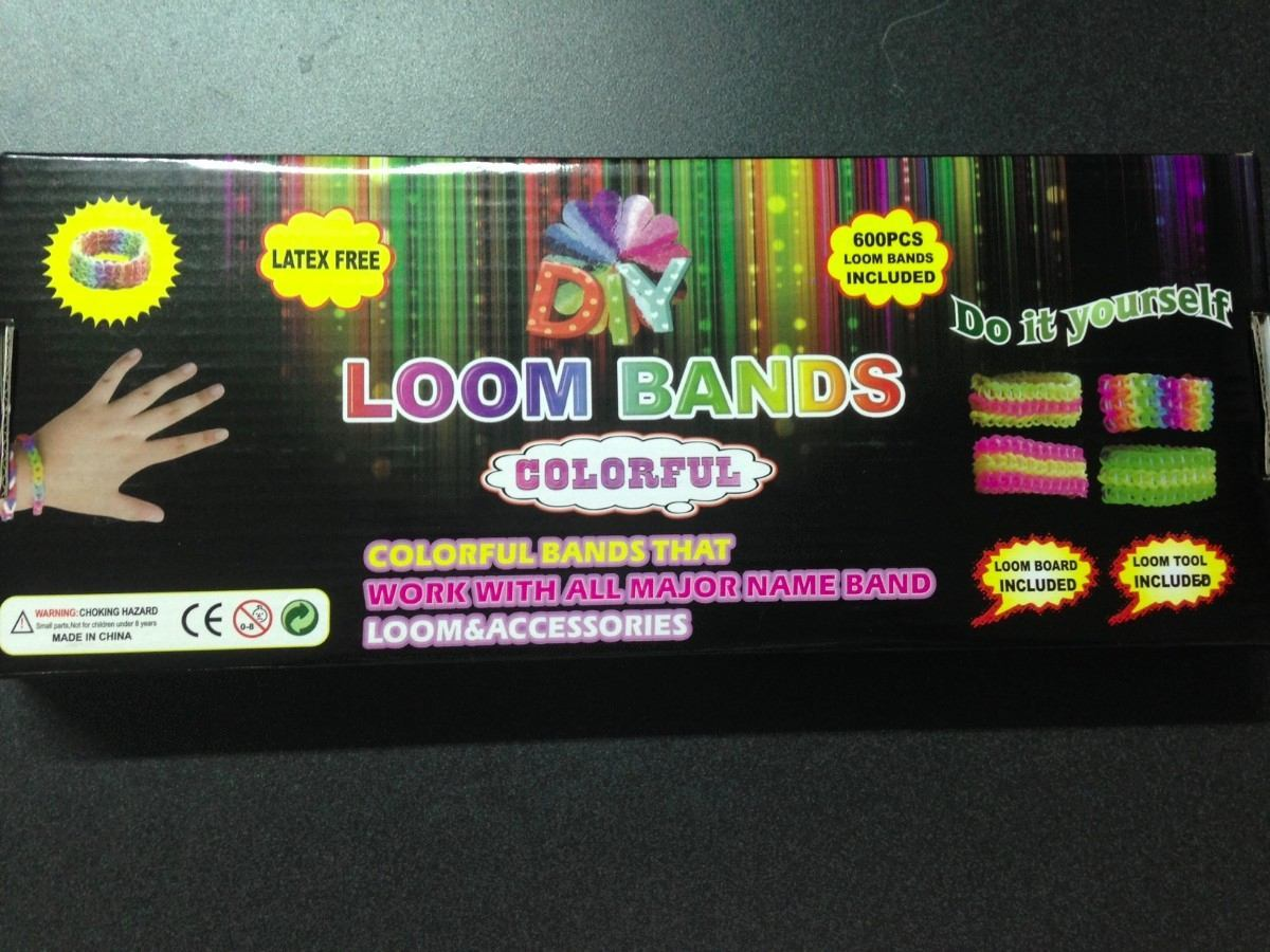 052c8d6360 Kit Loom Bands Colorful