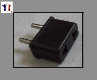 adaptateur prise chargeur chine usa japon vers france eu ebay. Black Bedroom Furniture Sets. Home Design Ideas