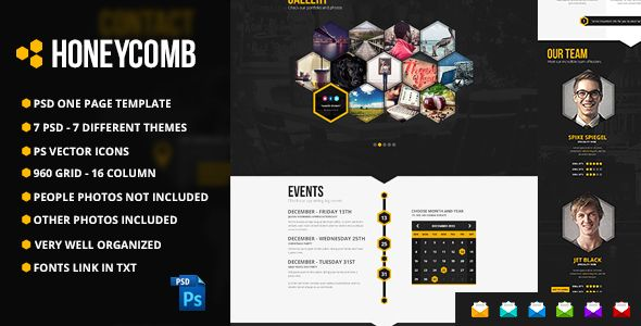 The Bebop Anime and Comic Convention PSD Template - 25