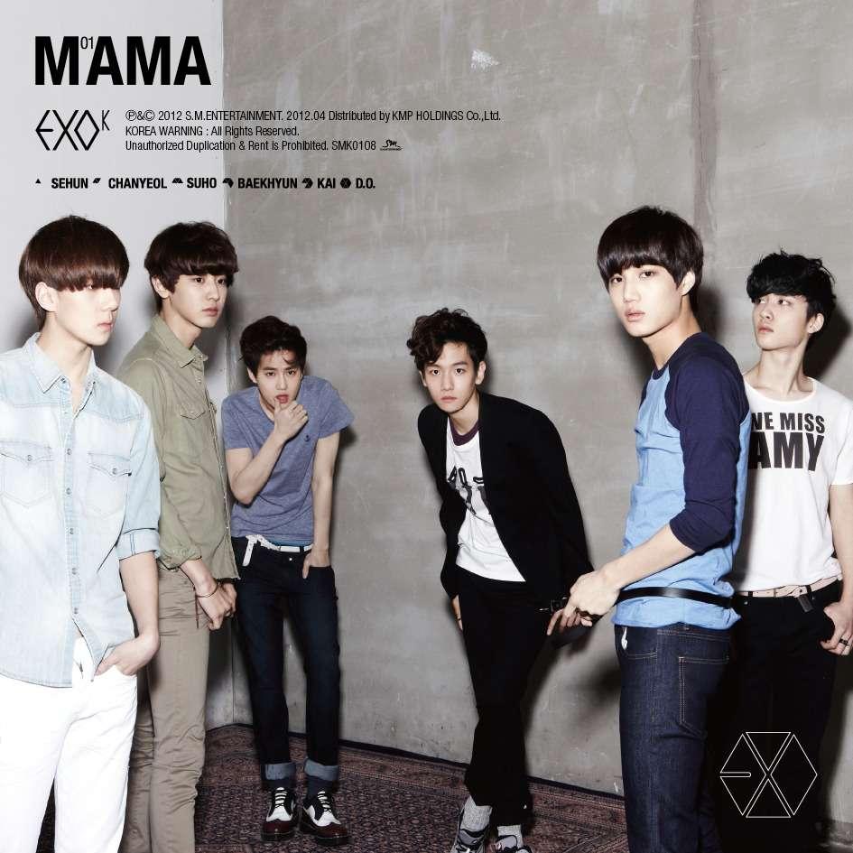 EXO-K MAMA (1st mini album) Coveruxj