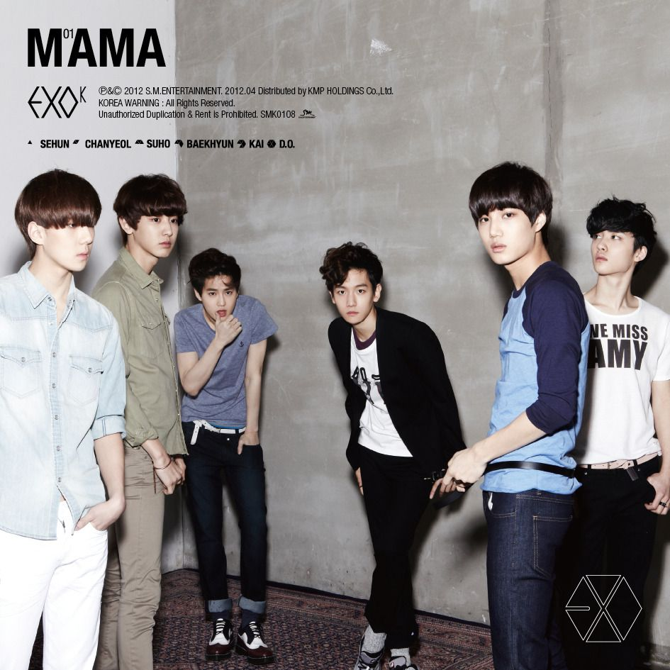 [Single] EXO-K - MAMA