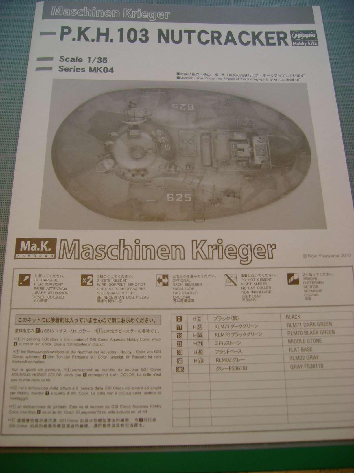 Review kit P.K.H NUTCRACKER   Serie MK04 1/35......By Hasegawa. Dsc03367t