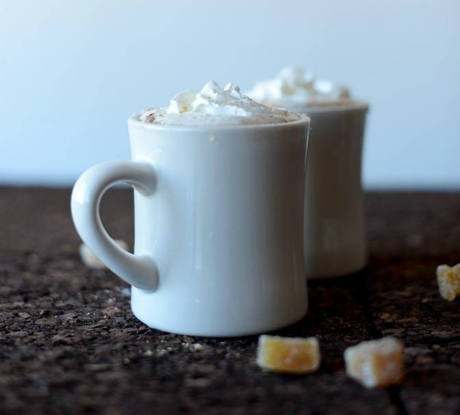 Best hot chocolate recipes: Ginger Hot Chocolate
