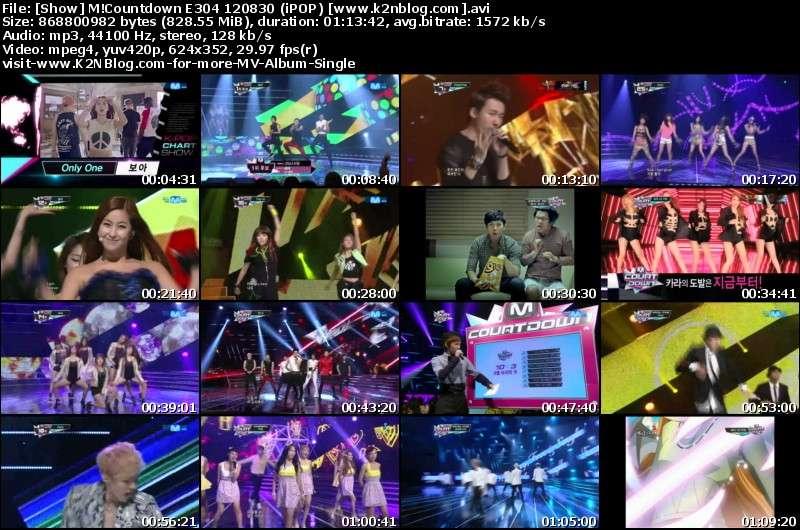 [Show] Mnet M!Countdown E304 120830