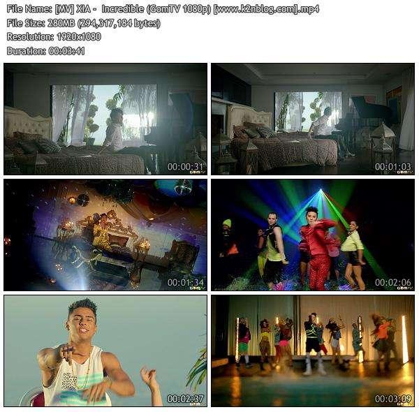 [MV] XIA -  Incredible [GomTV HD 1080p]