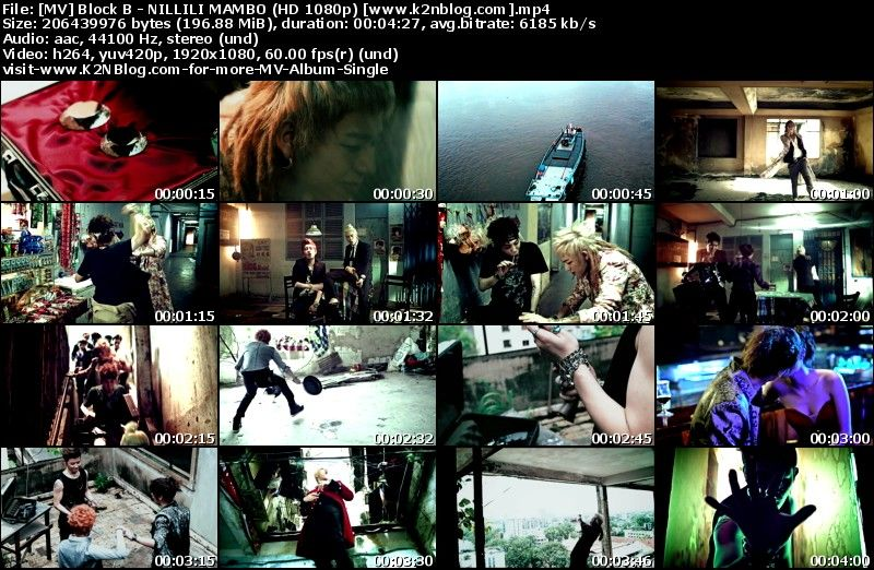 [MV] Block B - NILLILI MAMBO (HD 1080p Youtube)