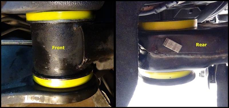 Powerflex Subframe Bushing Full Replacement Bmw Cca Forum