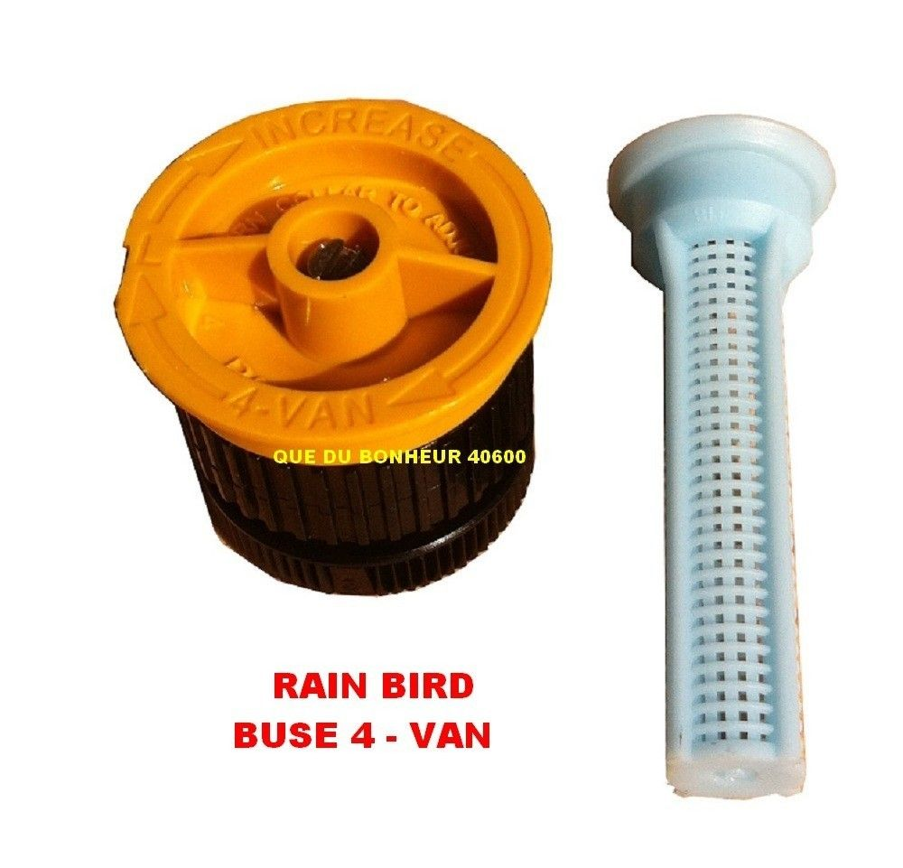 5 buses 04 van pour arroseur tuy re uni spray rain bird. Black Bedroom Furniture Sets. Home Design Ideas