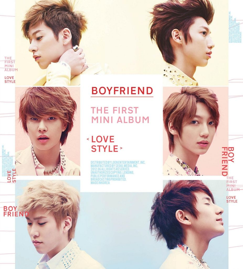 [Mini Album] Boyfriend - LOVE STYLE