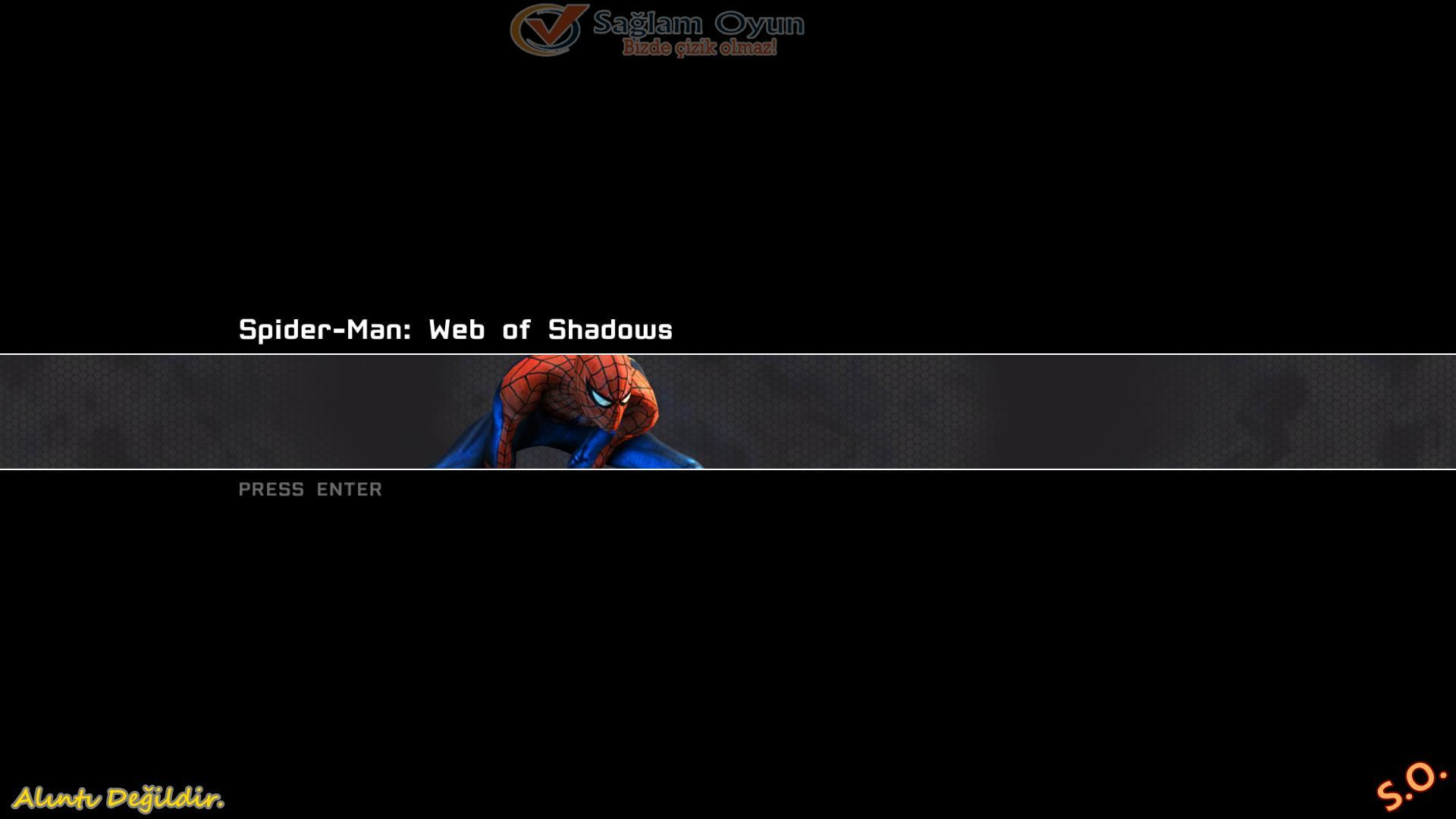 Spiderman Web of Shadows