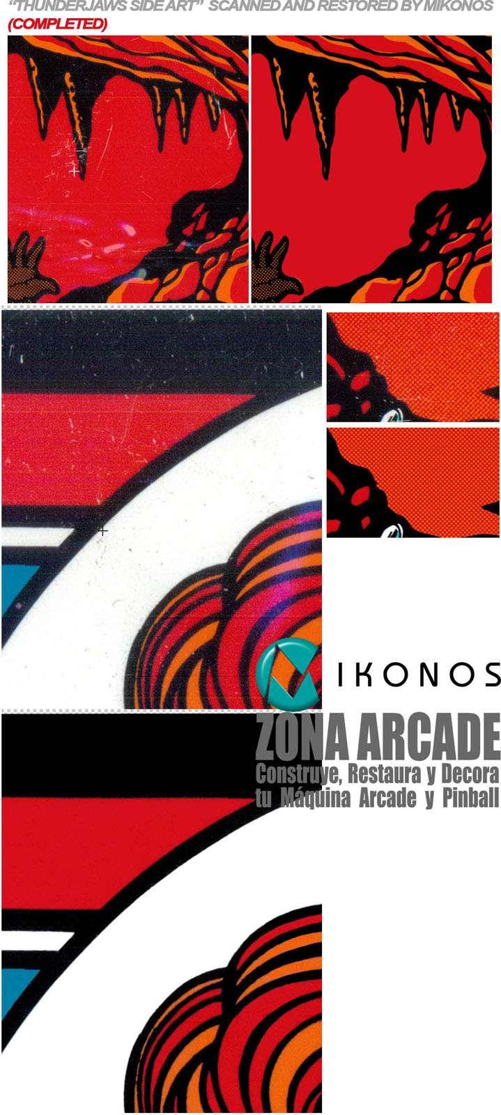 Arcade artwork Gallery of Zona Arcade and reproductions  Mik