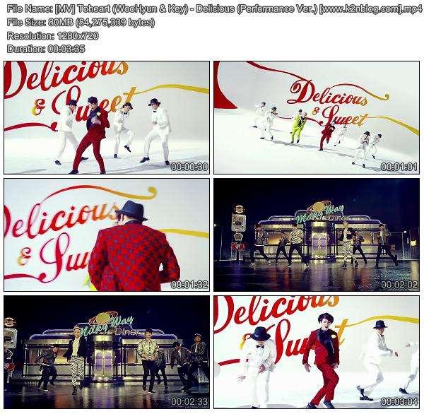[MV] Toheart (WooHyun & Key) - Delicious (Performance Ver.) [HD 720p Youtube]