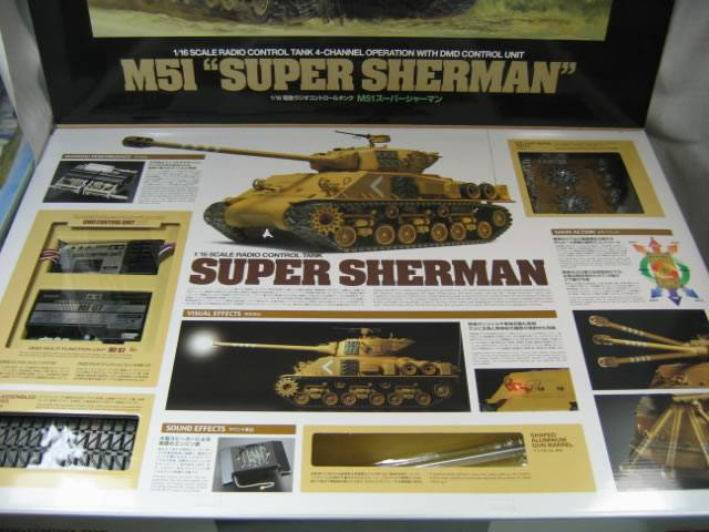 IDF Sherman 1/16 Tamiya FO M51 - RCU Forums