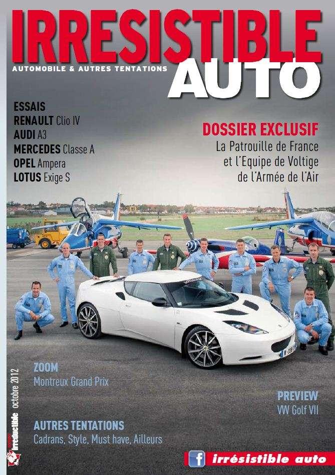 Irrésistible Auto – Octobre 2012