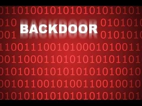 Verwijder Backdoor. Cadelspy