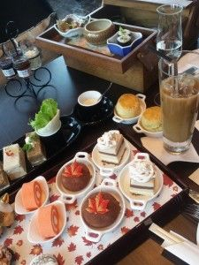 Afternoon Tea at The Okura Prestige Hotel