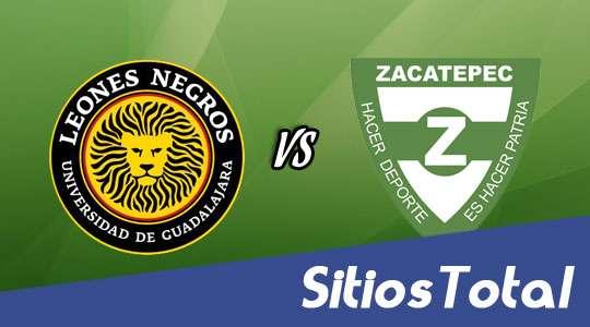Leones Negros vs Zacatepec en Vivo – J3 Clausura 2016 – Domingo 24 de Enero del 2016