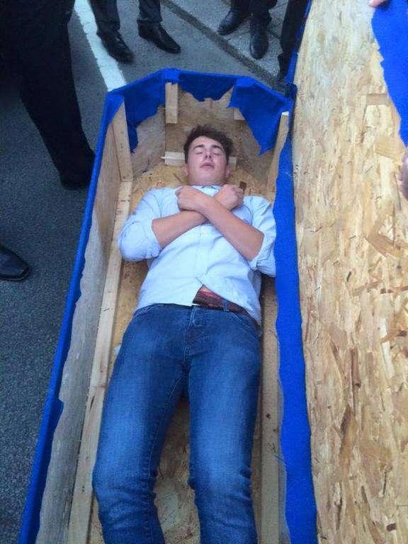 Keiran faussement enterré
