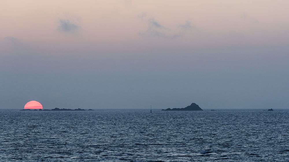 Coucher de soleil maritime 6QY6QV