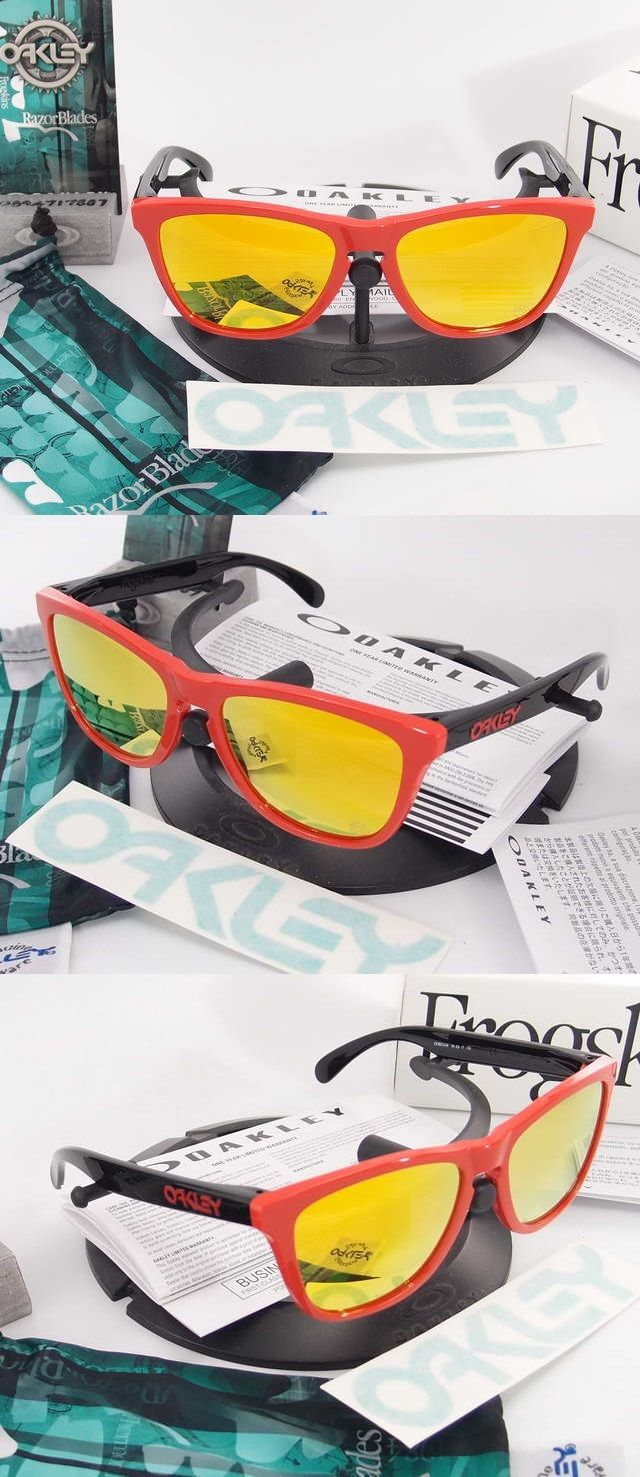d2a6e56e3caa5 OAKLEY SPECIAL EDITION HERITAGE COLLECTION FROGSKINS Polished White Violet  Iridium OO9013-35 ราคา 3