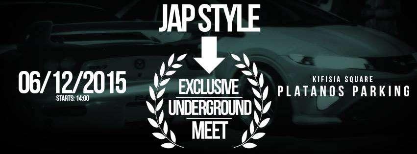 JapStyle Exclusive Underground meet NAFPKM