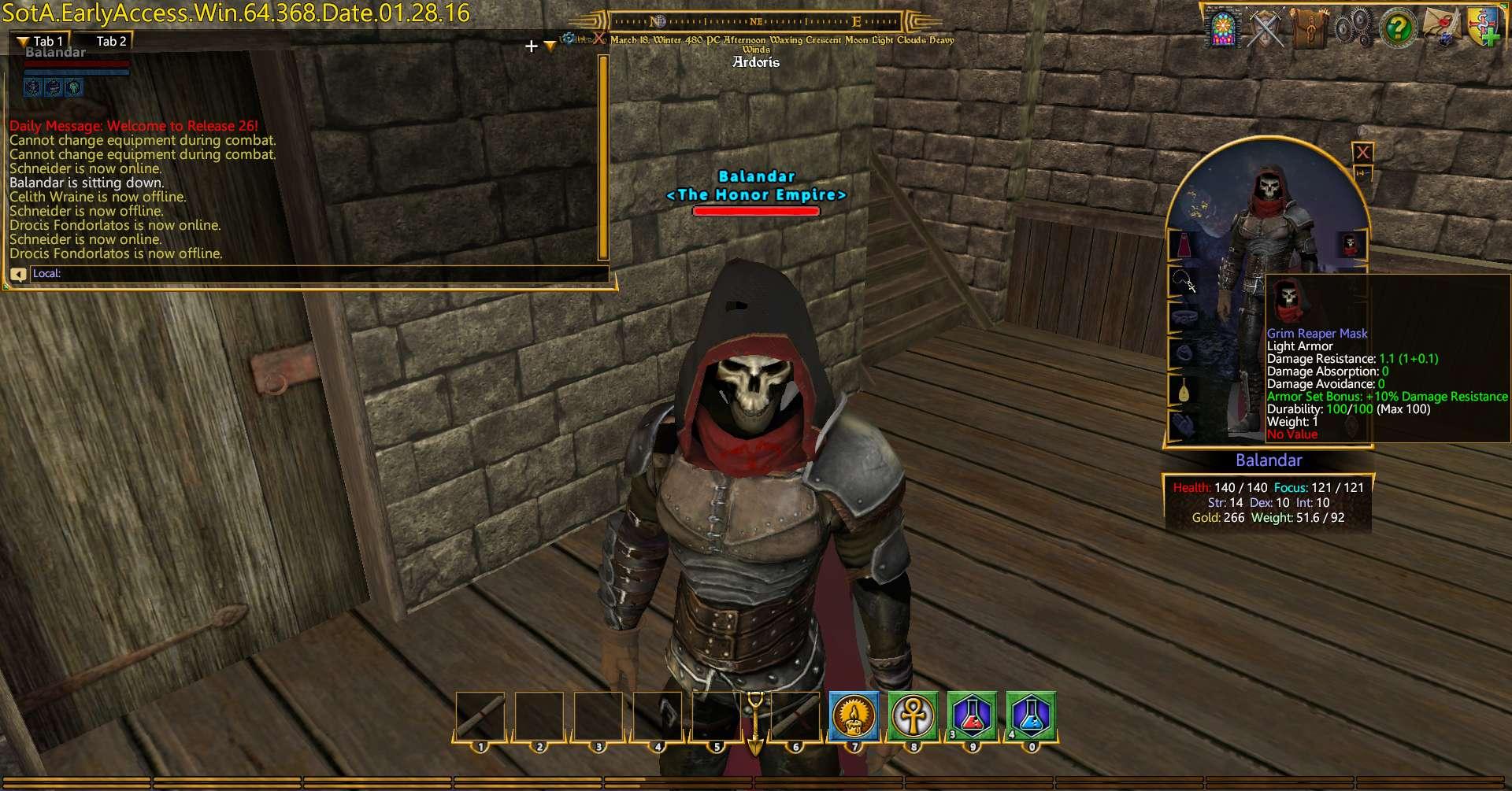 Grim Reaper Mask | Shroud of the Avatar Forum