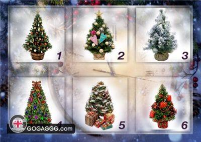 ტესტი: აირჩიეთ ნაძვის ხე და შეიტყვეთ, როგორი ახალი წელი გელით