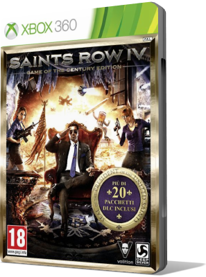 [XBOX360] Saints Row IV Game of the Century Edition (2014) - SUB ITA