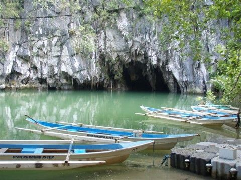The underground river - one of the main reasons people visit Palawan - made it to he 7th Wonder List