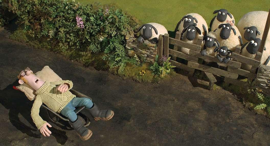 Aviukas Šonas. Filmas / Shaun the Sheep Movie (2015)