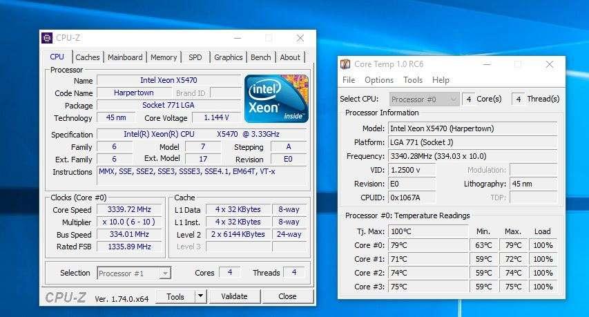 X5470 Max Temp 79 Degrees on stock clock! How!? | Tom's Hardware Forum