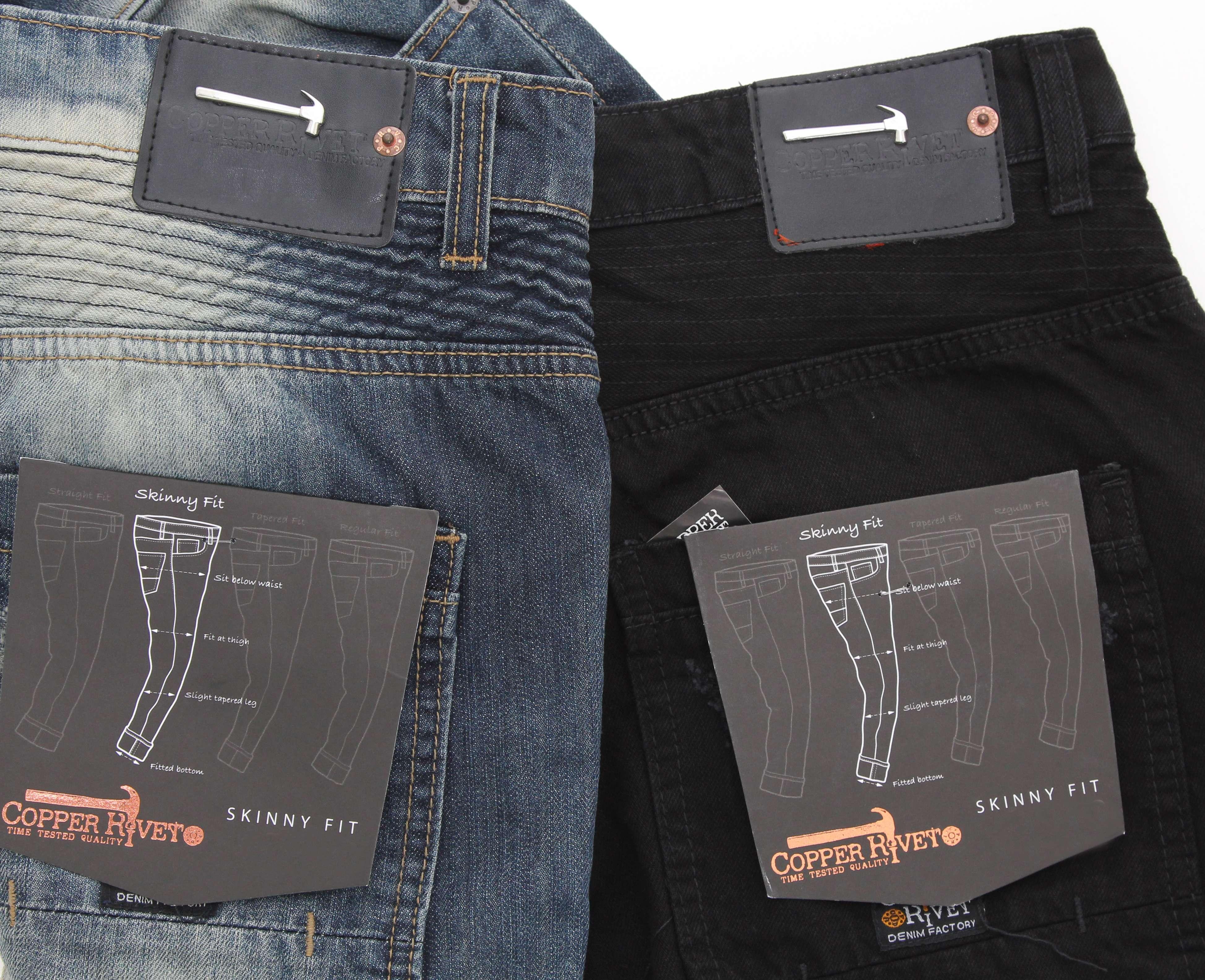 New Mens Biker Zipper Jeans By Copper Rivet Burgundy Denim Jeans