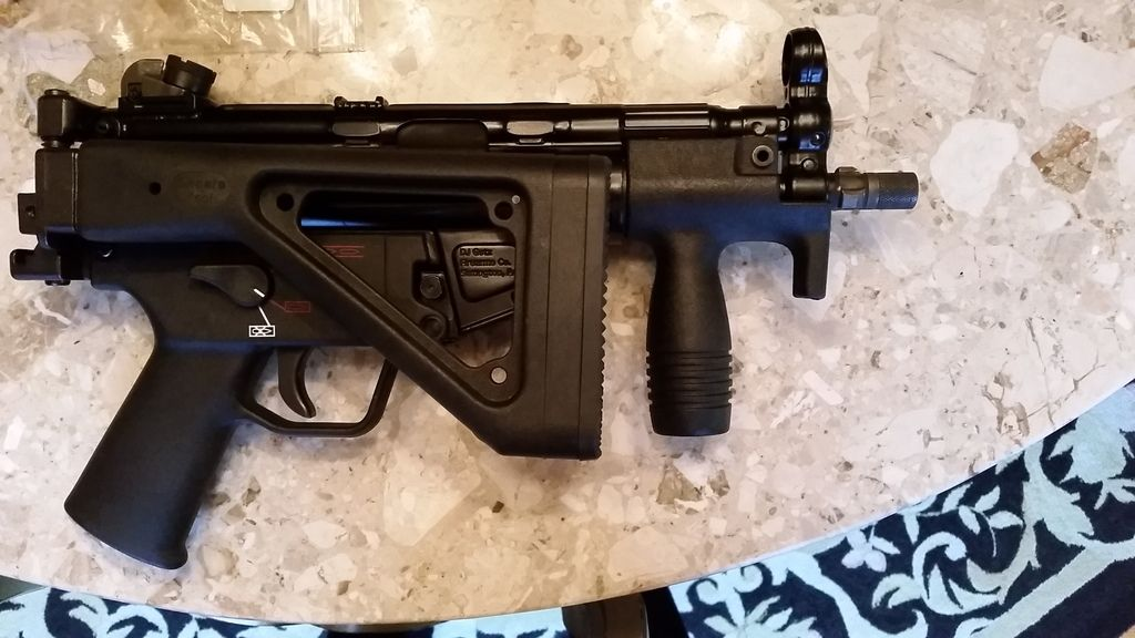WTS: Choate MP5k tactical folding stock - $125 shipped, obo