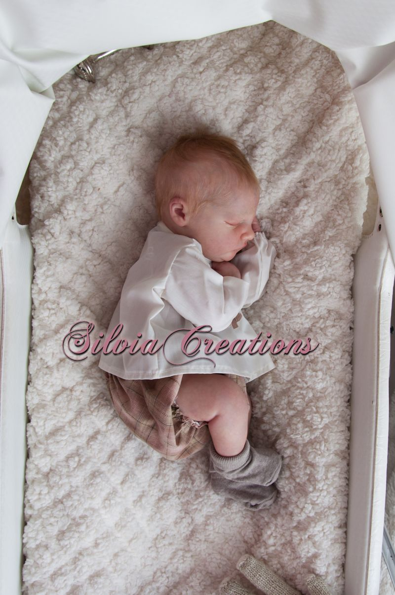 Silviacreations Realborn R Owen Asleep Bountiful Baby