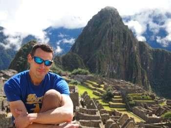 Alex at Machu Picchu