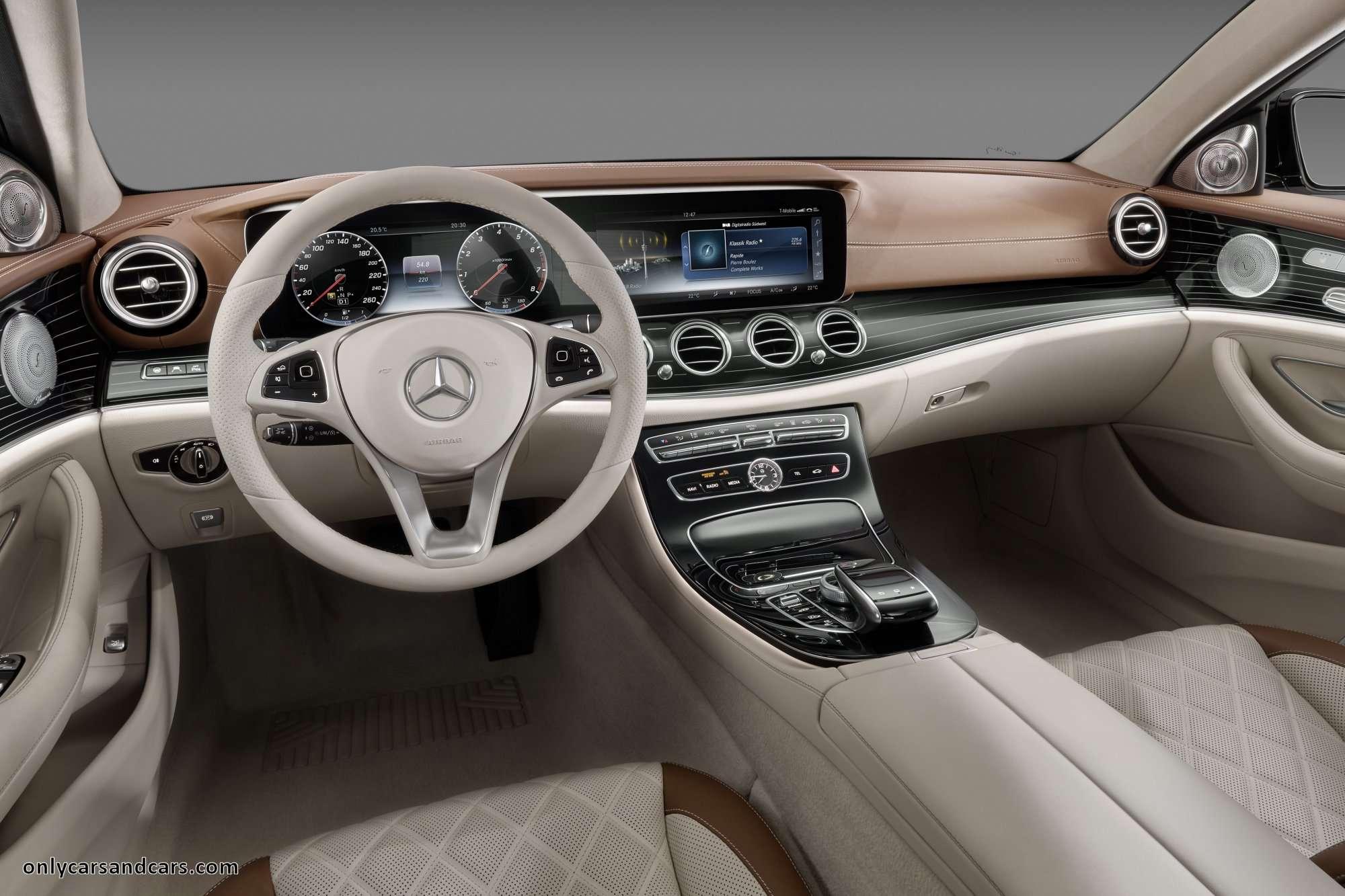 Breaking news: Mercedes-Benz W213 E-Class 2016 interior revealed
