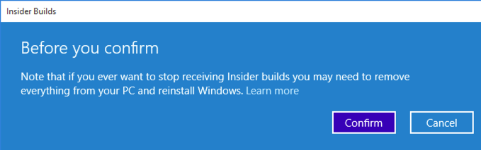 Windows Update Insider Build Fast Ring auswählen