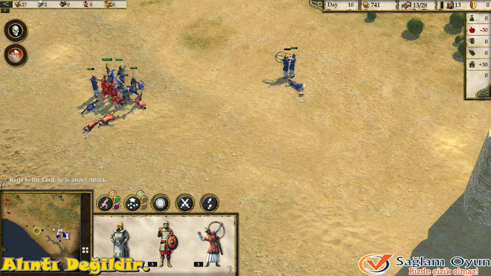 Stronghold Crusader 2: The Emperor and The Hermit-3