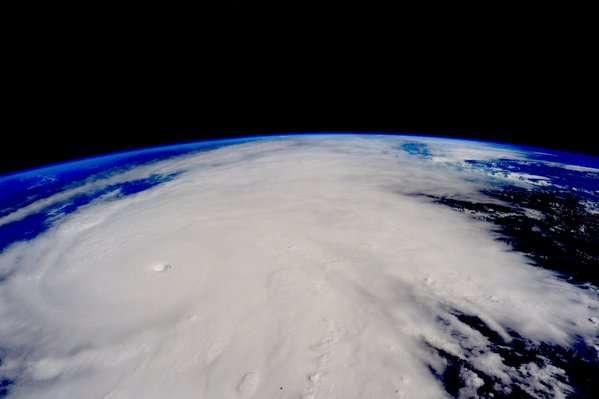 Así se ve el huracán Patricia desde el espacio