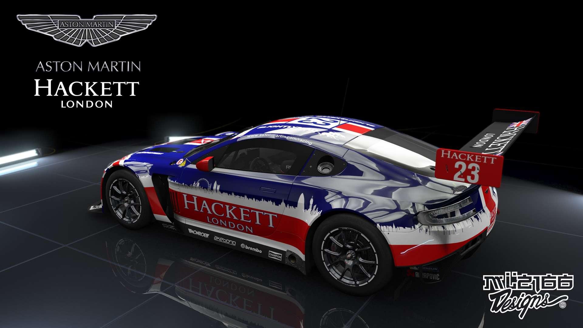 skins hackett aston martin vantage gt3 racedepartment. Black Bedroom Furniture Sets. Home Design Ideas